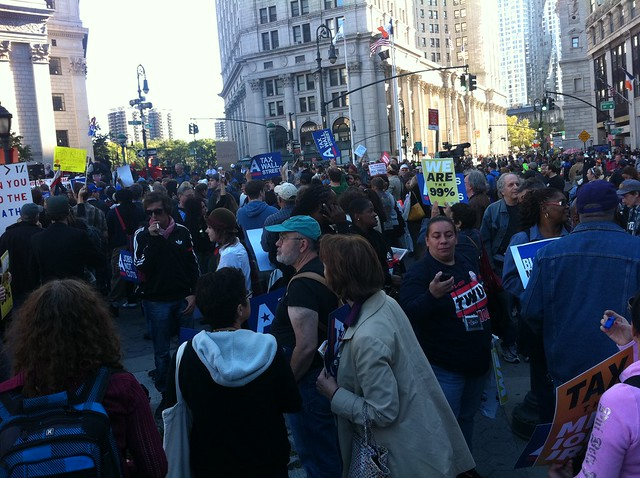 Foley Square October 5, 2011
