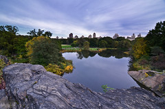 NYC's Central Park (S. Nirza) Tags: nyc newyork fall nikon centralpark manhattan turtlepond belvederecastle 2011 d7000