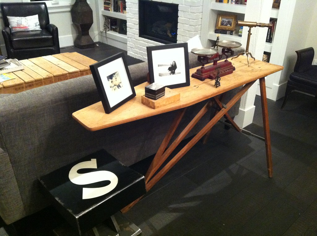 Sofa table and other stuff