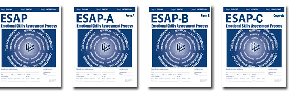 Front Covers of the ESAP® Assessment Vesions