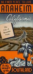 No Finer Place To Live! 1950s brochure (Anaheim Historical Society) Tags: california city vintage lemons citrus oranges anaheim southland