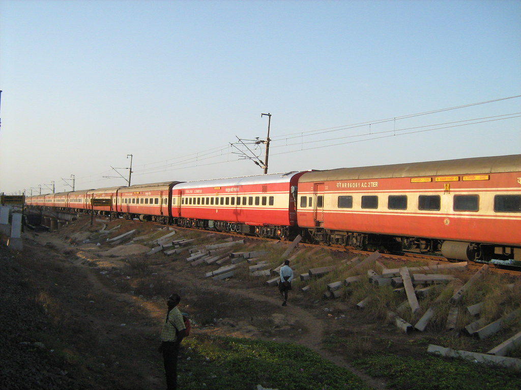 Chennai Hazrat Nizamuddin RAJDHANI EXPRESS