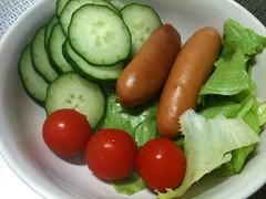 朝食サラダ(2011/10/15)