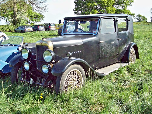 262 Alvis 12/50  Fabric Saloon (1923-32)