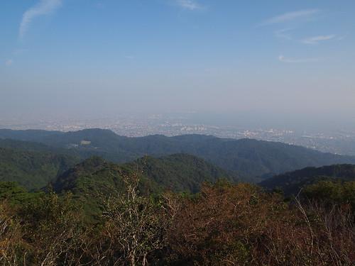 六甲山から見た風景