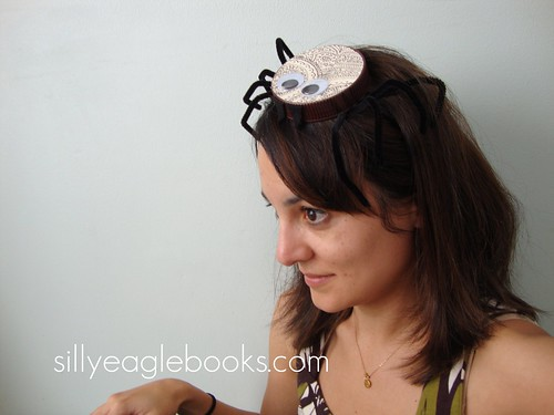 bottle cap spider pill box hat