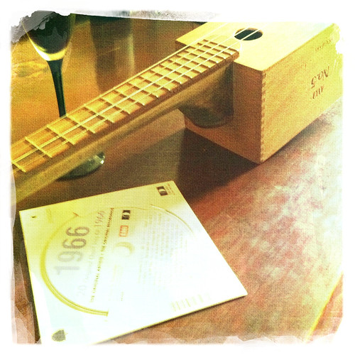 Cigar box ukulele for my birthday. Day 325/365.