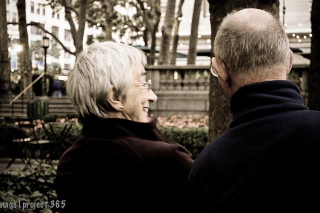 Love in Bryant Park