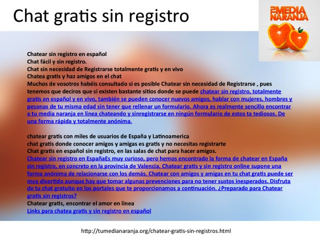 chat sin registros gratis espanol