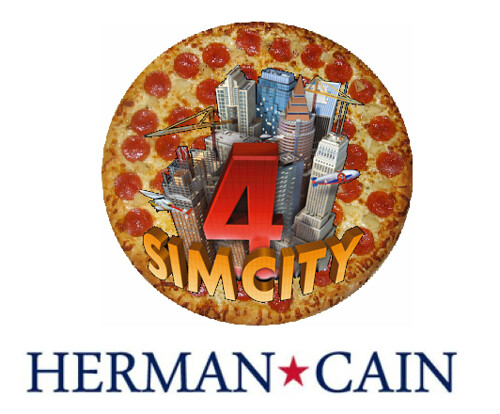 Herman Cain's Tax Plan IS a Game, After All
