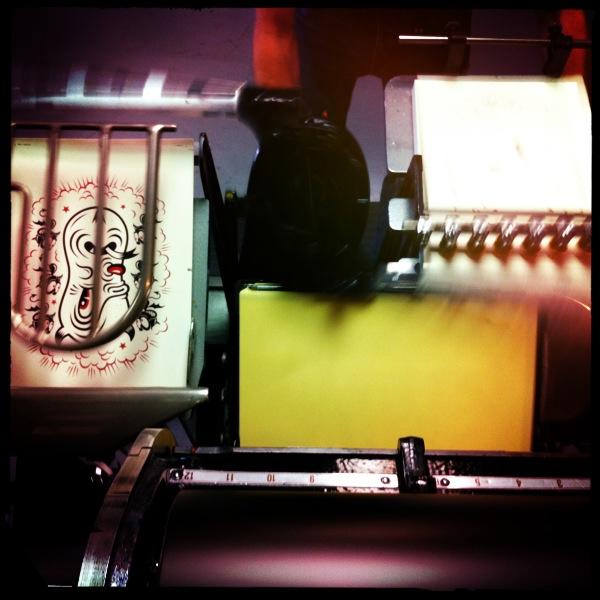 Printing the black