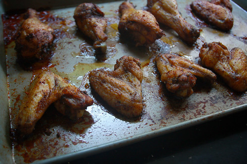 peppery chicken wings
