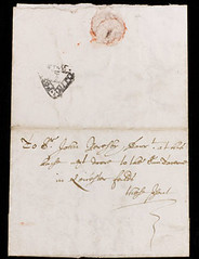 1680 London Penny Post letter