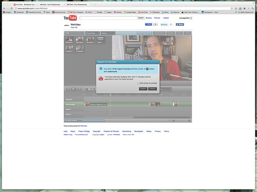 YouTube - WeVideo Export