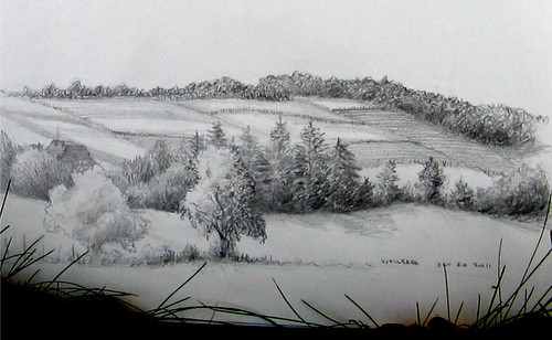 field sketch- Wollbach, DE