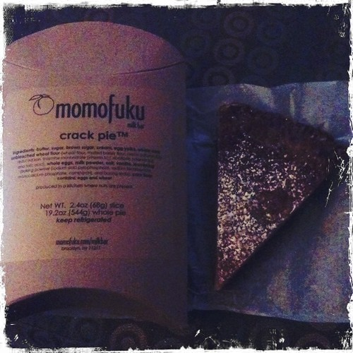 Crack Pie from Momofuku