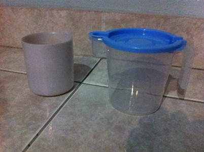 Montessori Pouring activity