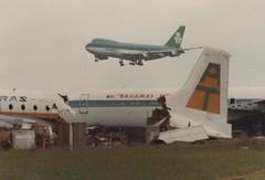 EI-ASI,EI-BAA &VP-BDF (Niall Moran( IRL)) Tags: eiasi eibaa vpbdf boeing bristol britannia 707 747 dublin aerlingus aer aerturas turas bahamas world scrapped airport