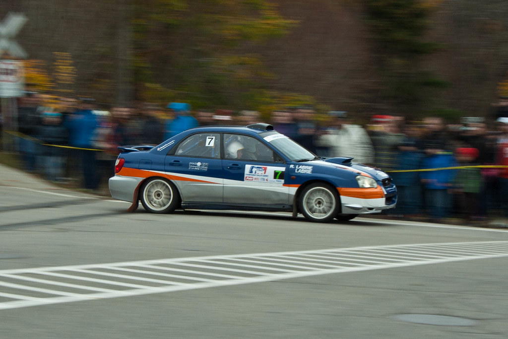 Maxime Labrie - Rallye de Charlevoix 2011