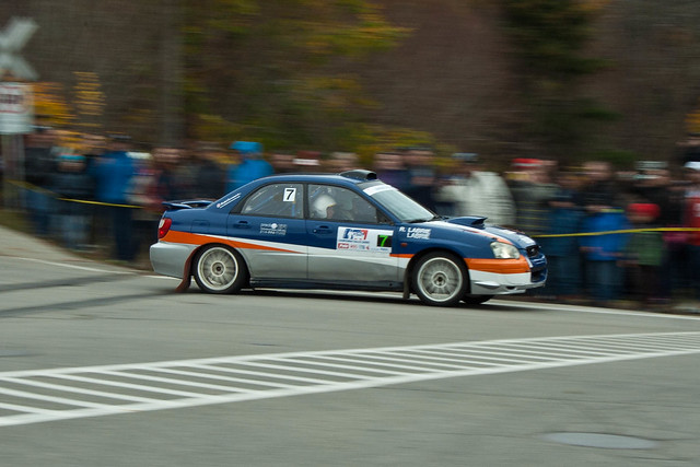 Maxime Labrie - Rallye de Charlevoix 2011