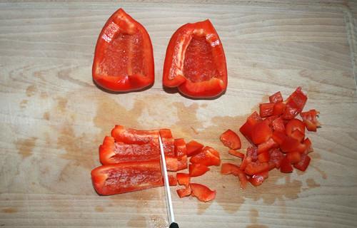 21 - Paprika würfeln