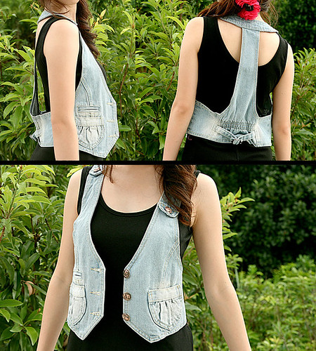 15_Casual Denim Vest