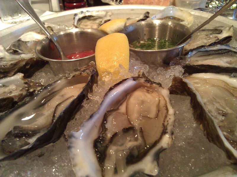 Oysters at Bistro Jeanty