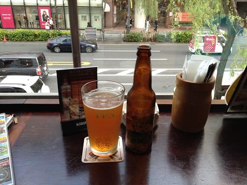 Biro at Bulldog in Ginza