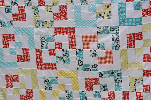 Amanda's quilt - detail