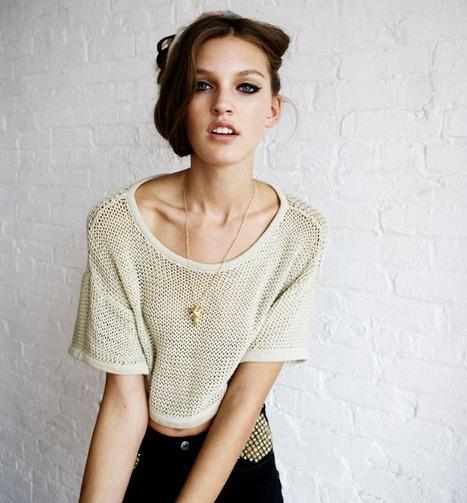 fashion knit sweater