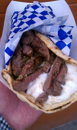 Traditional Lamb Gyro