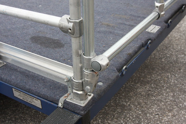 how to build a trailer ramp gate