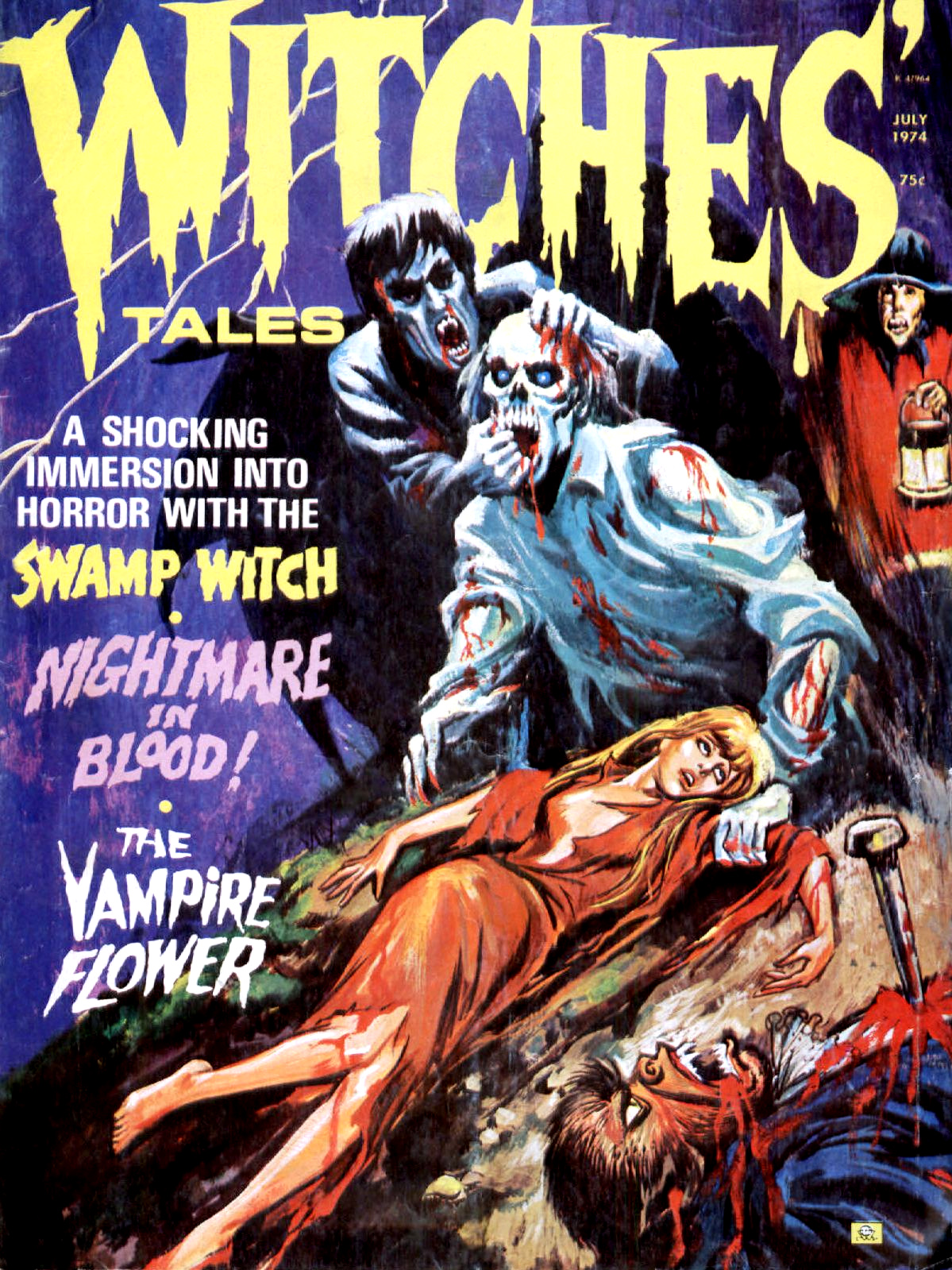 Witches' Tales Vol. 6 #4 (Eerie Publications 1974)