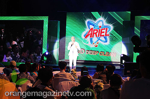 Boy Abunda hosted the Ariel goes 3D event