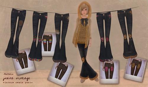 NuDoLu Jeans vintage AD