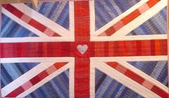 Union Jack flag patchwork quilt 2007 (Cottilello) Tags: uk england jack quilt flag united union kingdom patchwork