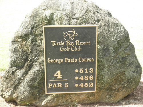 Turtle Bay Colf Course 157