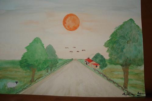 autorica slike; Angelina Barun - naziv slike; ĐAKOVAČKO PREDGRAĐE by ararak2006