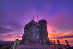 sunrise (Rex Montalban Photography) Tags: sunrise newfoundland stjohns hdr signalhill photomatix 6images rexmontalbanphotography