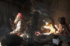 Pashupatinath sadhu (PawelBienkowski) Tags: nepal devotion kathmandu hinduism baba puja tantra sadhu ashram guru holyman aarti pashupatinath shivaratri sadhus mahashivaratri dhuni ascetics lifeinnepal hinduisminnepal