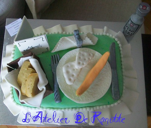 rakı sofralı 30 yaş pastası by l'atelier de ronitte