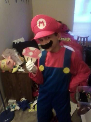 Aidan as Mario