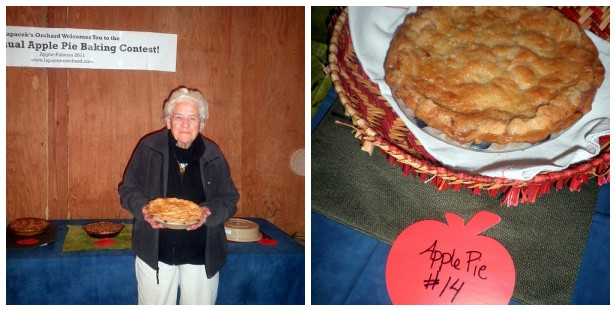 3rd Place Winner for the 2011 Apple-Palooza Apple Pie Baking Contest at Lapacek's Orchard - Gen Bancrof