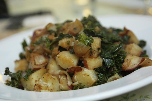 Stewed Kale and Potatoes