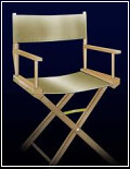 director chair with a twist