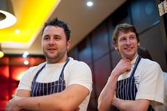 Paul Foster, Tuddenham Mill; Russell Batemann, Colette's at the Grove