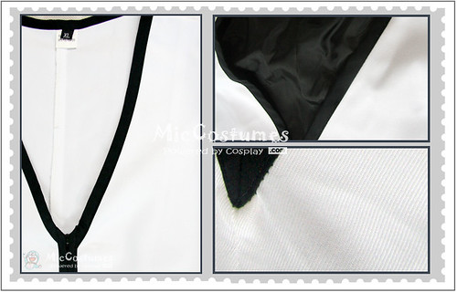 Bleach Gin Ichimaru Arrancar Cosplay Costume1