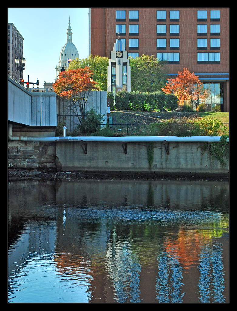 Grand River reflections