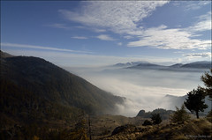 Sea of clouds (Vincenzo Giordano) Tags: autumn mountain clouds landscape nikon tokina monte 1116 orsiera valchisone d7000 vincenzogiordano