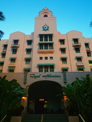 Royal Hawaiian Hotel, Wikiki, O'hau, HI (A.D. Loucks) Tags: vacation island hawaii hotel nikon honeymoon pentax oahu royal hawaiian wikiki 2011 adloucks